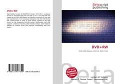 Bookcover of DVD+RW