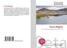 Bookcover of Tacna Region