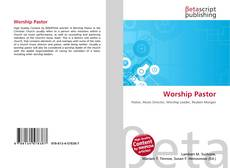 Bookcover of Worship Pastor