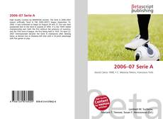 Bookcover of 2006–07 Serie A