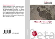 Alexander Manninger的封面