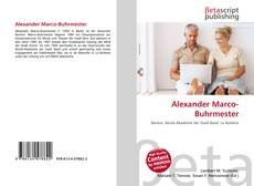 Borítókép a  Alexander Marco-Buhrmester - hoz