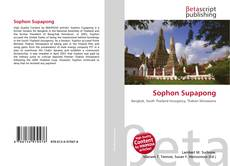 Bookcover of Sophon Supapong