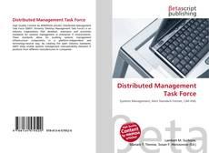 Distributed Management Task Force kitap kapağı