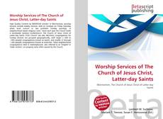 Worship Services of The Church of Jesus Christ, Latter-day Saints kitap kapağı