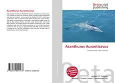 Bookcover of Acanthurus Auranticavus