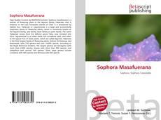 Capa do livro de Sophora Masafuerana