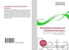 Worshipful Company of Chartered Surveyors的封面