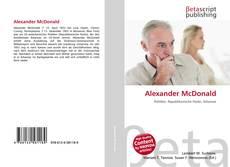 Couverture de Alexander McDonald