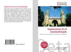 Bookcover of Sophoronius III of Constantinople