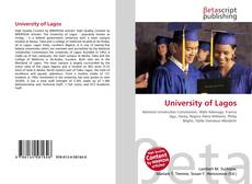 Bookcover of University of Lagos