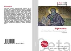 Bookcover of Sophronius