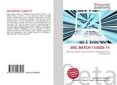 Bookcover of DEC BATCH-11/DOS-11