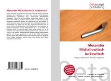 Alexander Michailowitsch Jurkewitsch kitap kapağı
