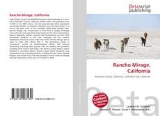 Bookcover of Rancho Mirage, California
