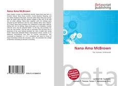 Bookcover of Nana Ama McBrown