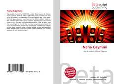 Nana Caymmi kitap kapağı