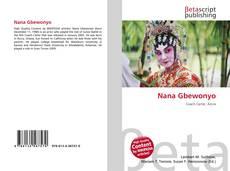 Nana Gbewonyo kitap kapağı