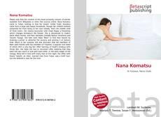 Nana Komatsu kitap kapağı