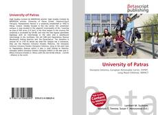 Borítókép a  University of Patras - hoz