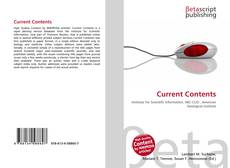Bookcover of Current Contents