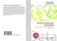 Bookcover of Treaty of Guarantee (Proposed)