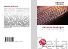 Capa do livro de Alexander Moskaljow