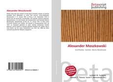 Buchcover von Alexander Moszkowski