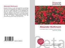 Couverture de Alexander Muthmann