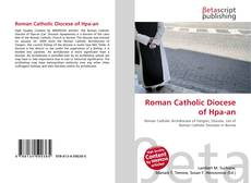 Bookcover of Roman Catholic Diocese of Hpa-an