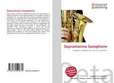 Capa do livro de Sopranissimo Saxophone