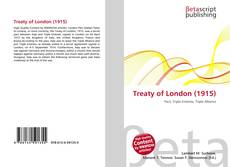 Bookcover of Treaty of London (1915)