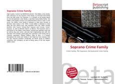 Soprano Crime Family kitap kapağı