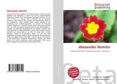 Couverture de Alexander Nemtin