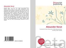 Bookcover of Alexander Nerat