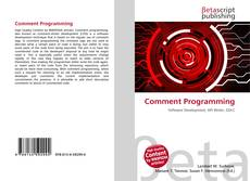 Bookcover of Comment Programming