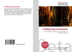 Обложка ColdSpring Framework