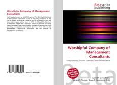 Обложка Worshipful Company of Management Consultants