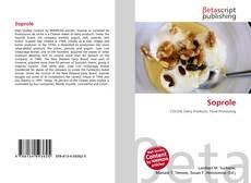 Bookcover of Soprole