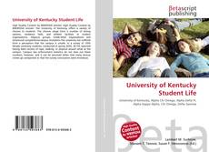 Buchcover von University of Kentucky Student Life