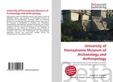 University of Pennsylvania Museum of Archaeology and Anthropology的封面
