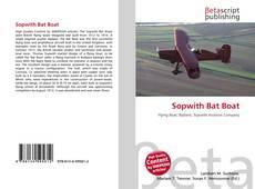 Обложка Sopwith Bat Boat