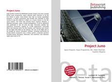Capa do livro de Project Juno