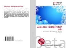 Alexander Nikolajewitsch Selin kitap kapağı