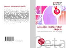 Capa do livro de Alexander Nikolajewitsch Skrjabin
