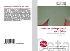 Buchcover von Alexander Nikolajewitsch von Lüders