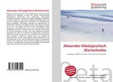 Borítókép a  Alexander Nikolajewitsch Wartschenko - hoz