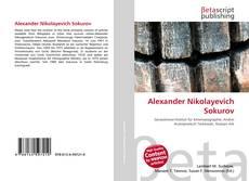 Buchcover von Alexander Nikolayevich Sokurov