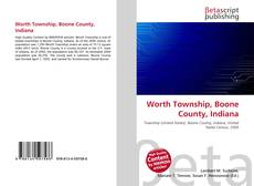 Bookcover of Worth Township, Boone County, Indiana