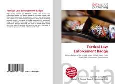 Borítókép a  Tactical Law Enforcement Badge - hoz